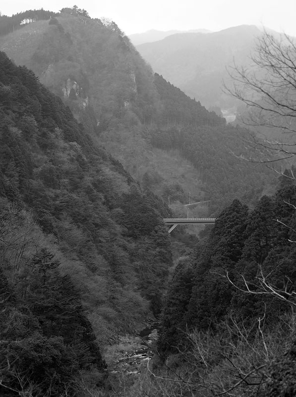 Okutama Mukashimichi Mountains and Gorges