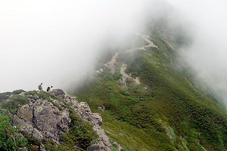 Senjo shoulder crags