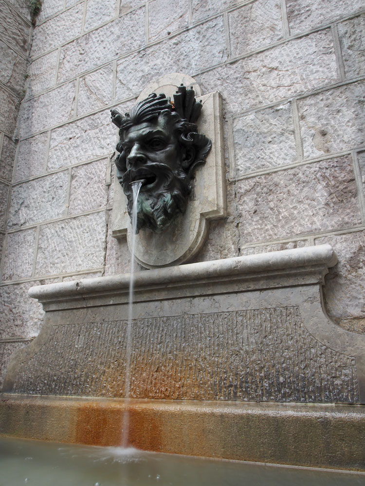 Geneva Old Town Fountain