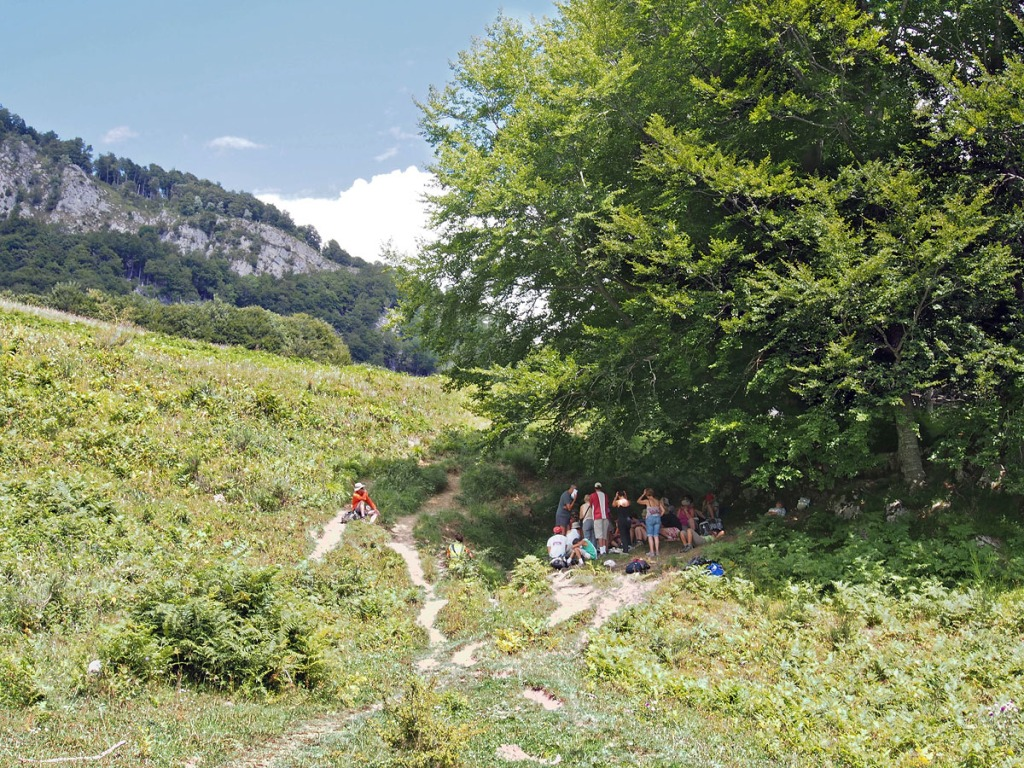 Shade On Col d'Aran