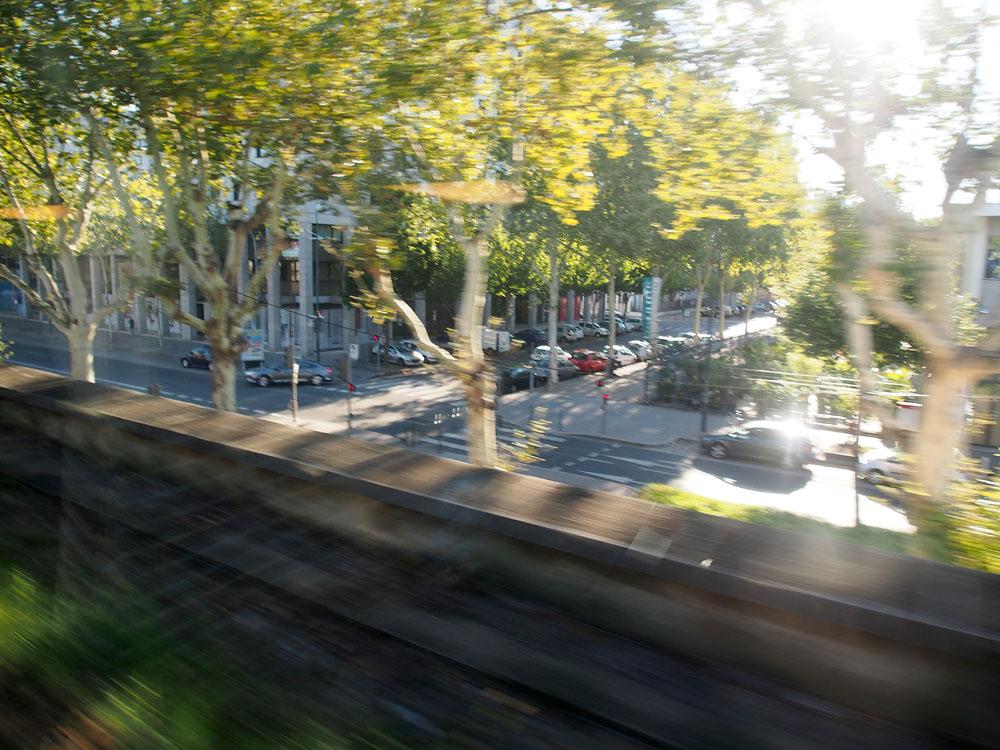 Pyrenees Trip Arriving Lyon Station