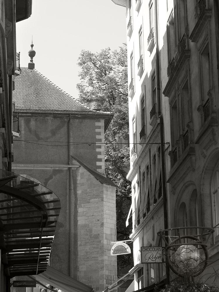 Geneva Old Town Façades