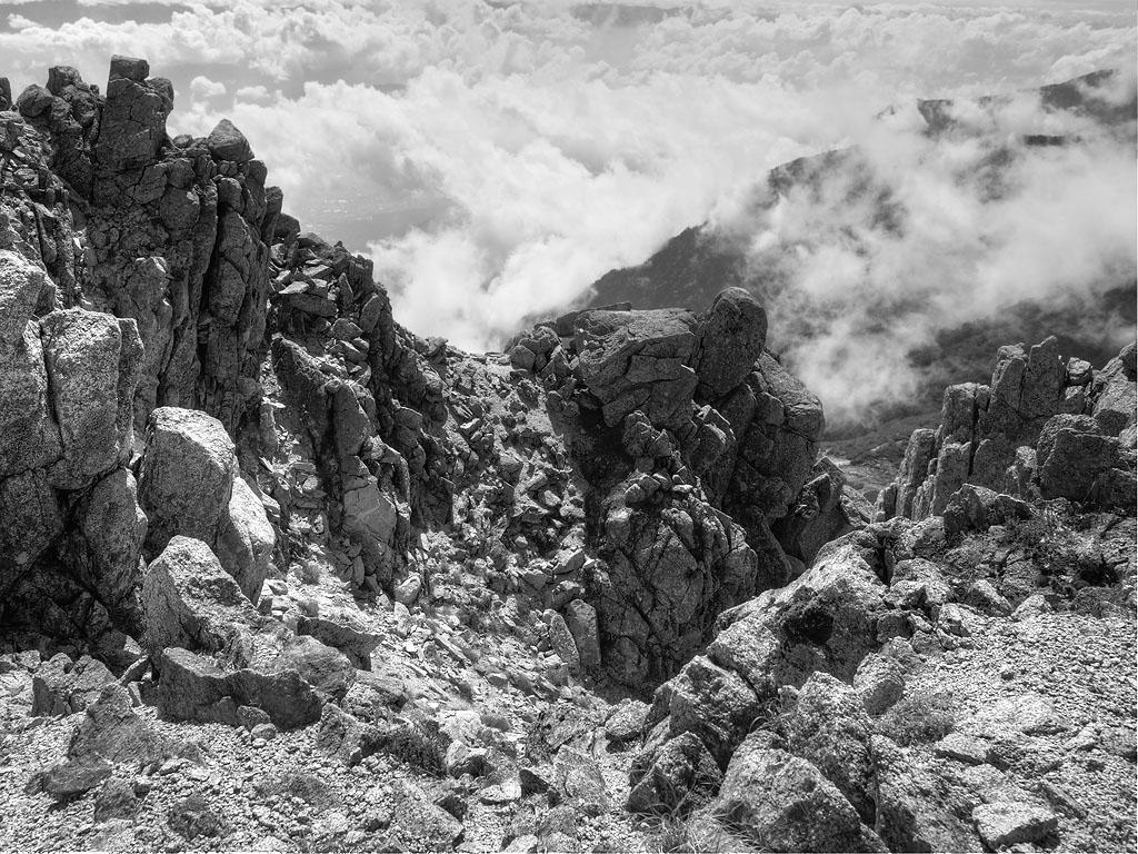 Kiso Precipice