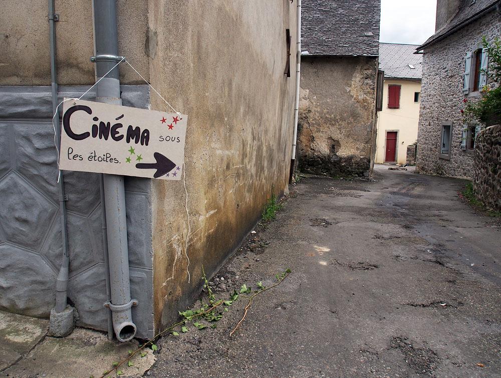 Lescun Cinema Sign