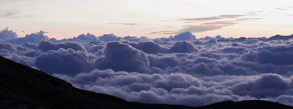 Kiso Komagatake Wide Cloudsea