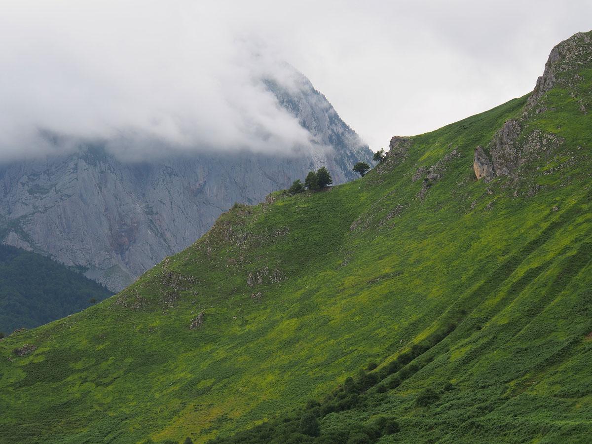 Lescun Peaks Above