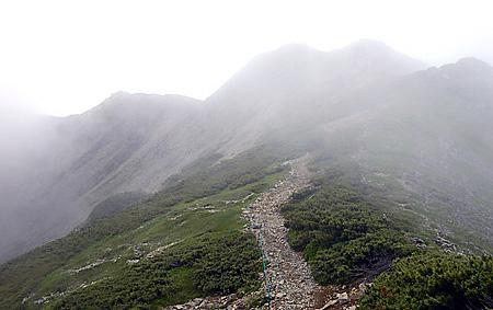 Senjo summit approach