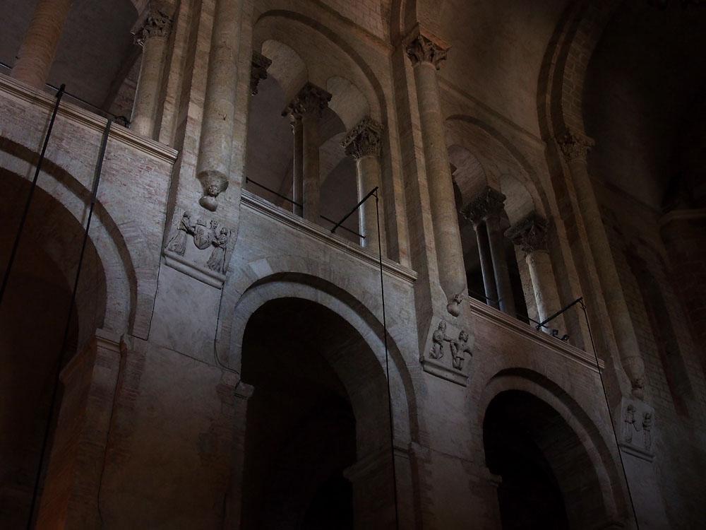 Pyrenees Trip Toulouse Basilique St. Sernin Nave Façade