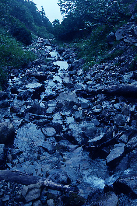 Senjo rock waterfall