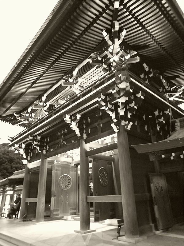 Meiji Jingu Gilded Gate
