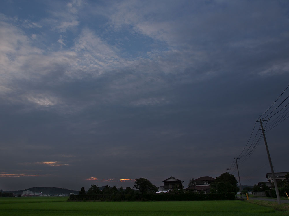 2012/07/14 Naruto Walk Farm Sunset