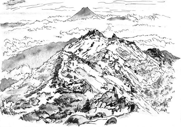 Sketch Houousanzan