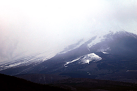 Mt. Fuji under the weather