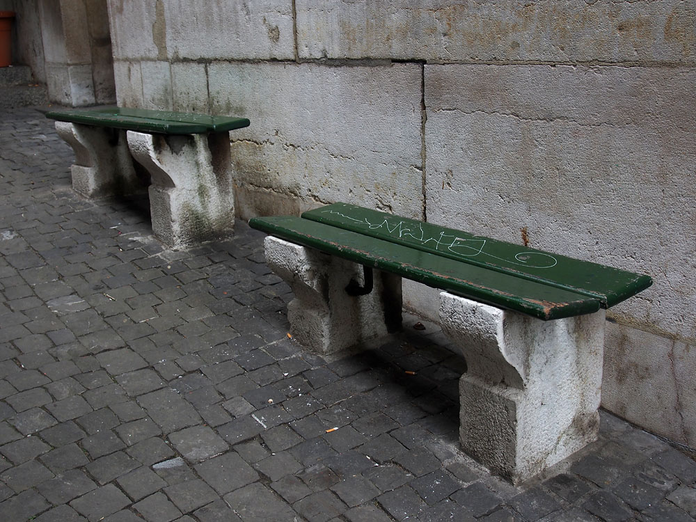 Geneva Old Town Benches