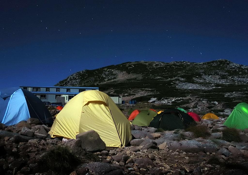 Kiso Komagatake Chili Tent Stars