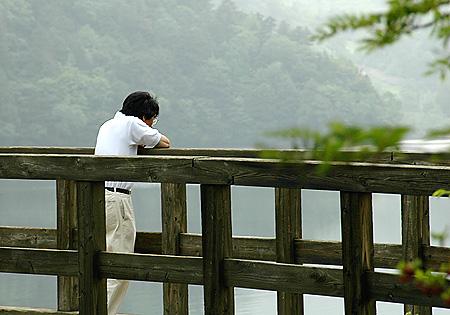 Gazing at Lake You