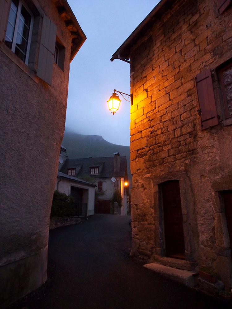 Lescun Street Lamps