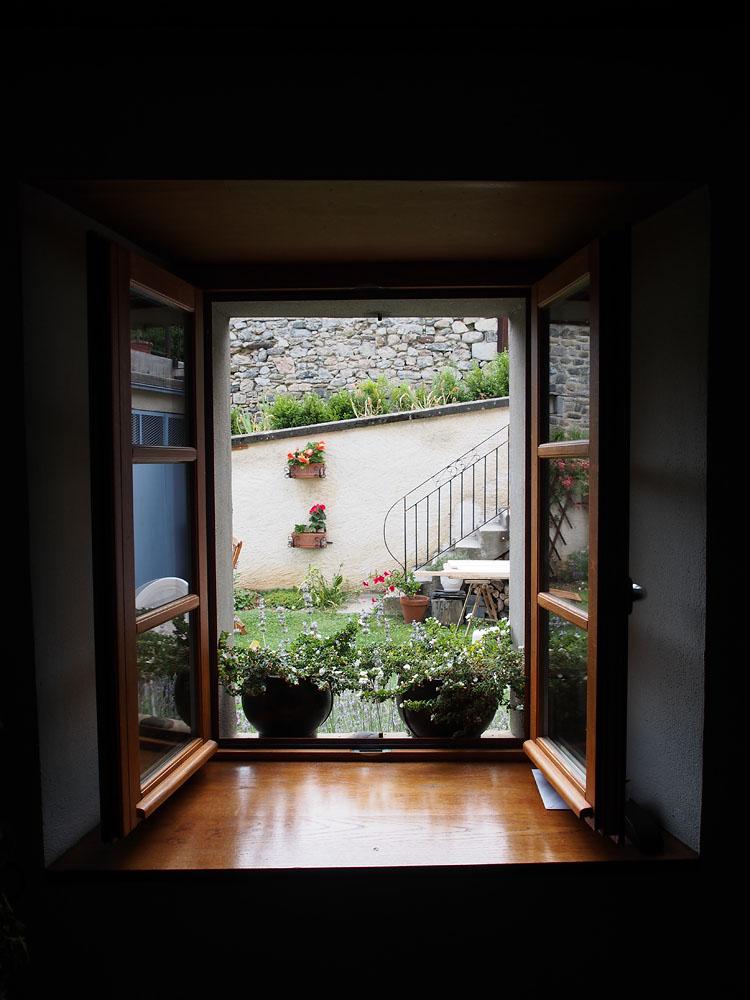 Lescun Gîte Window