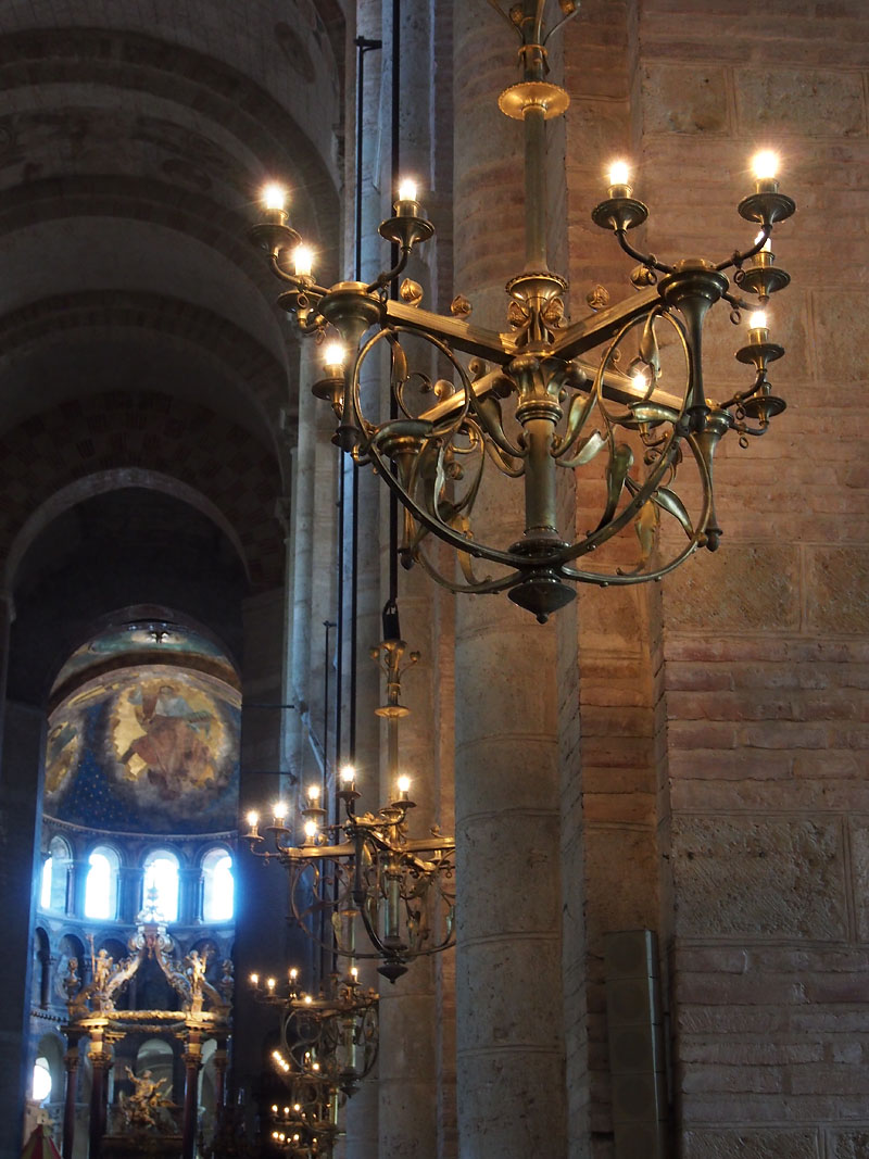 Pyrenees Trip Toulouse Basilique St. Sernin Candelabra