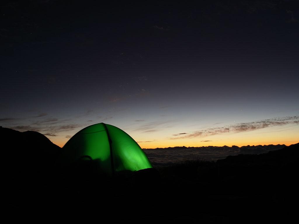 Kiso Komagatake Dawn Tent