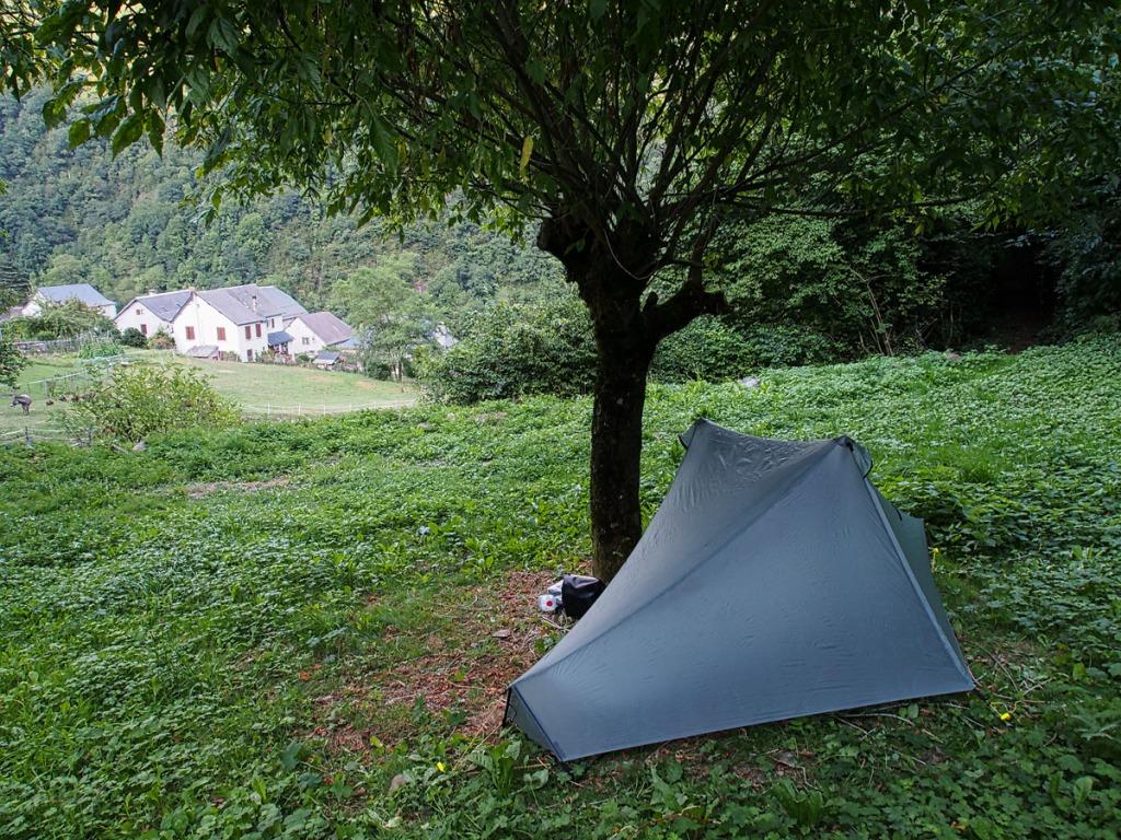 Borce Church Yard Camp