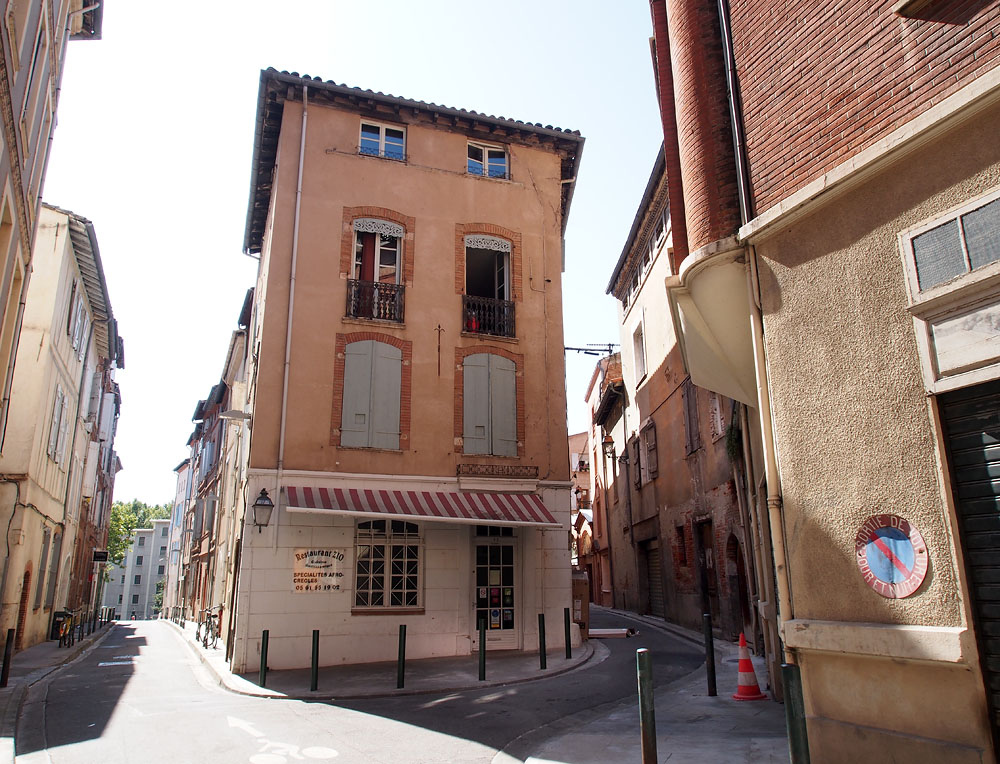 Pyrenees Trip Toulouse Fork Street Building