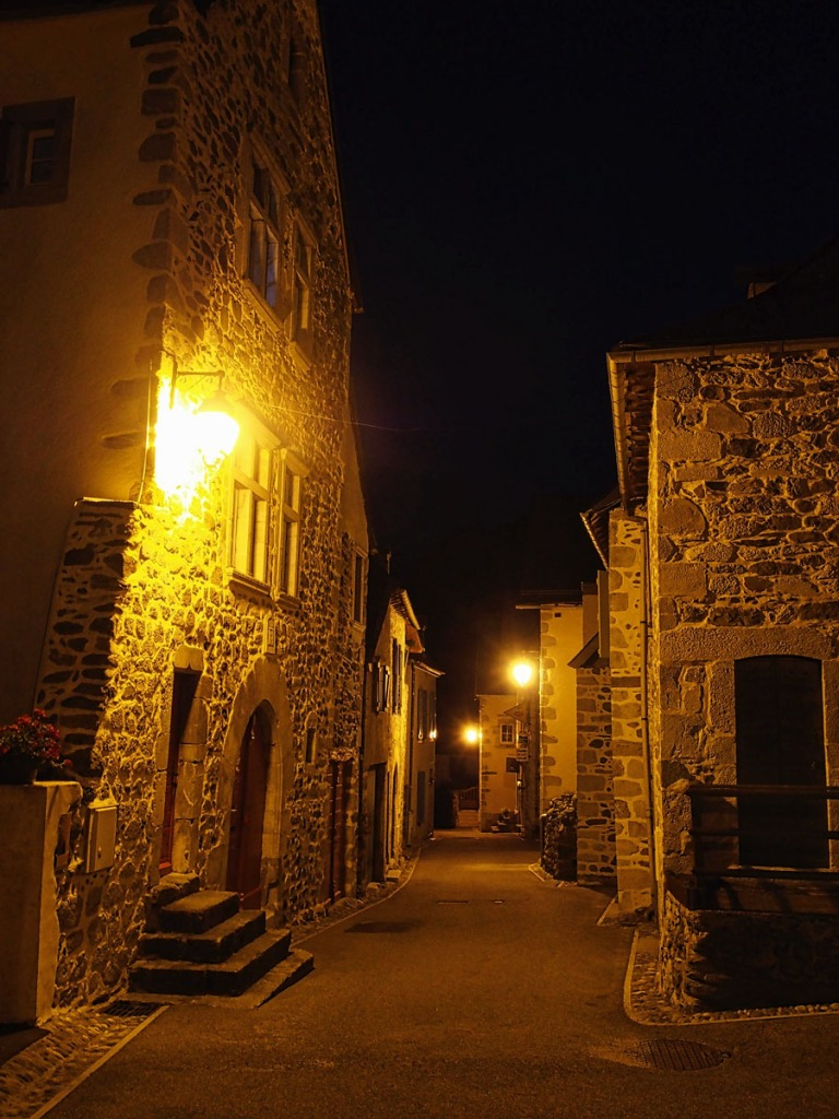 Night View of Borce Village