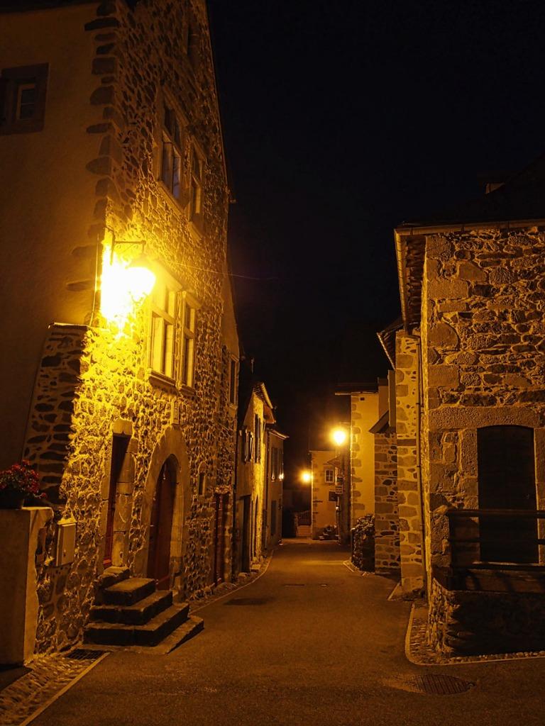 Night View of Borce Village