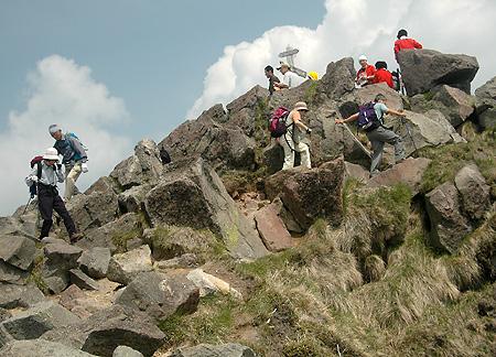 Oku Shirane peak go round