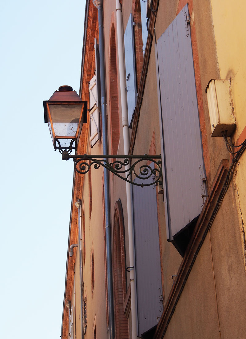 Pyrenees Trip Toulouse Street Lamp