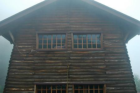 Senjo log hut