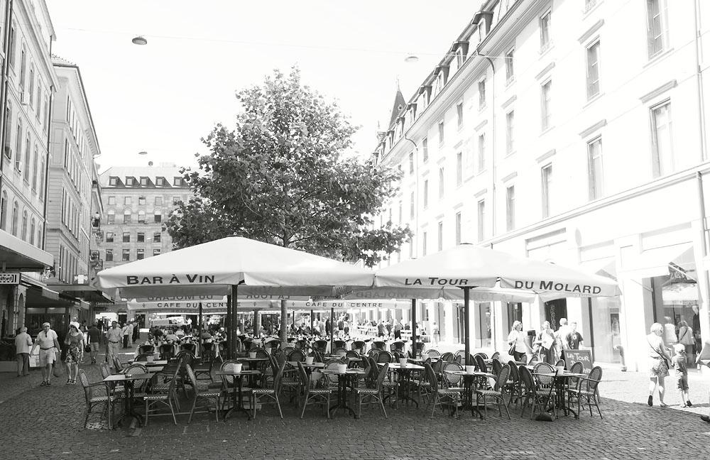 Geneva Old Town Street Restaurant