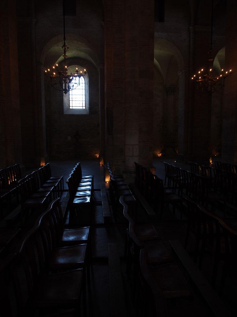 Pyrenees Trip Toulouse Basilique St. Sernin Pews