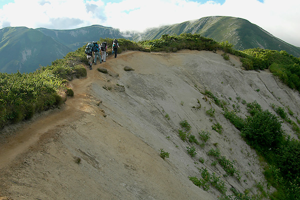 Four Hikers for Sugoroku