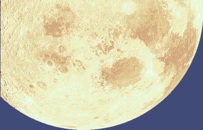 Golden half moon