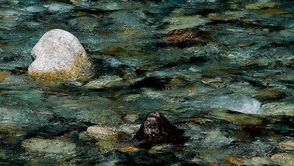 Karasawa River rocks