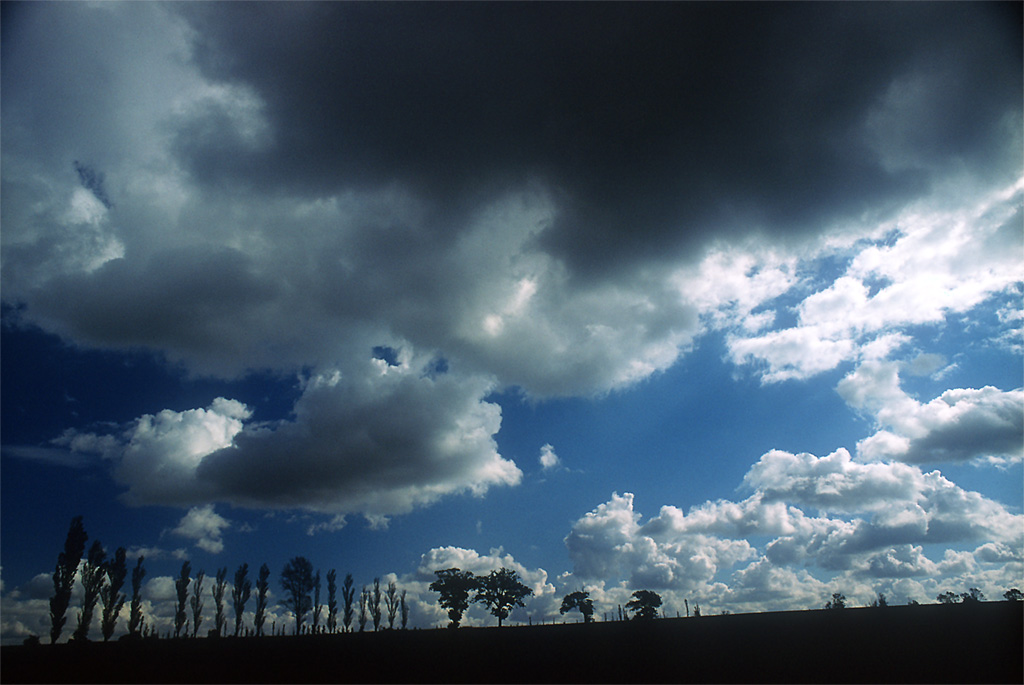 England Clouds and Sky
