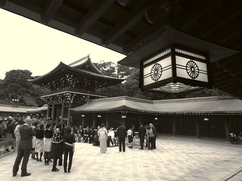 Meiji Jingu Wedding