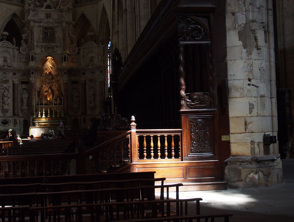 Pyrenees Trip Toulouse Cathedral Pulpit
