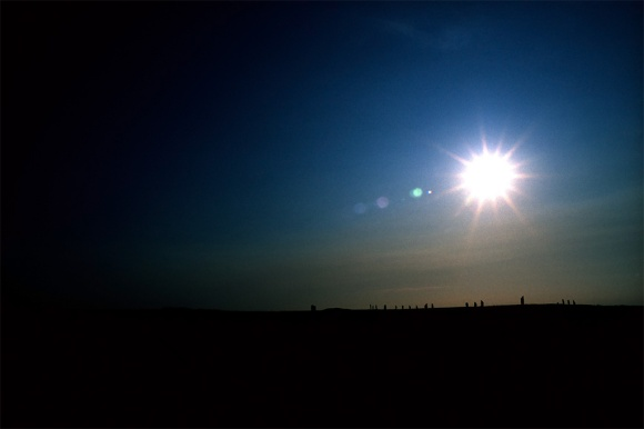 Orkney Circle Sunset